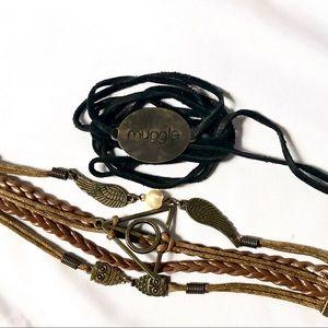 Harry Potter Bracelets Set of 2